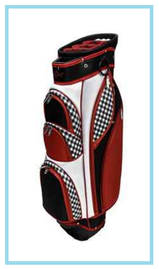 Greg Norman Check Mate golf cart bag
