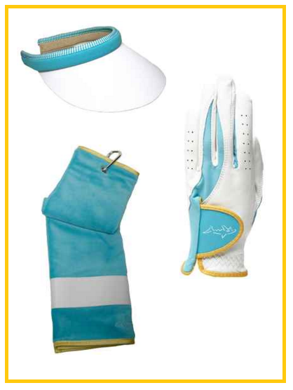 Greg Norman Santorini golf accessories