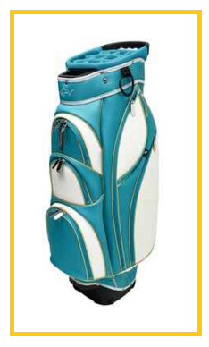 Greg Norman Santorini golf cart bag