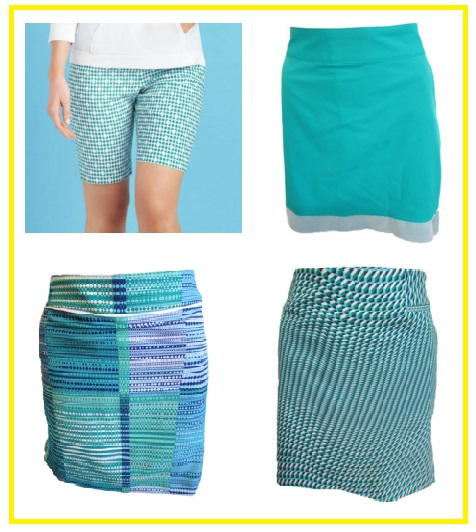 EP Pro Mykonos golf bottoms - golf short golf skorts