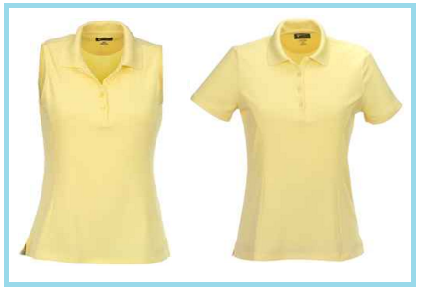 Greg Norman Santorini golf shirts in Sun (Yellow)