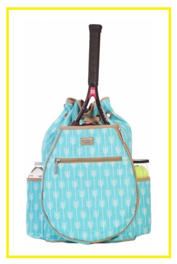 Ame & Lulu Ladies Tennis Backpacks - Lagoon