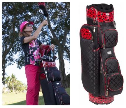 Cutler Sports Ladies Golf Cart Bags - Barcelona