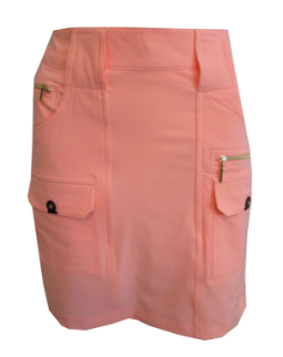 Jamie Sadock Contessa Ladies Golf Skort in Coral