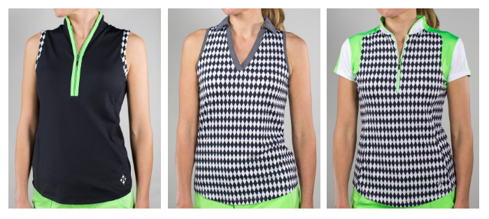 JoFit Melon Ball Golf shirts
