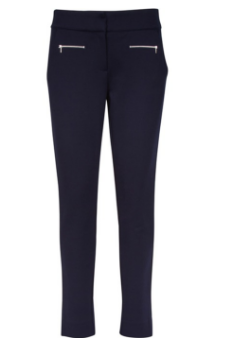 Greg Norman Ladies Ponte Ankle Golf Pants - Chain Reaction (Navy)