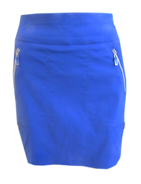 Jamie Sadock Ladies Skinnylicious Pull On Golf Skorts - Rhapsody (Blue)