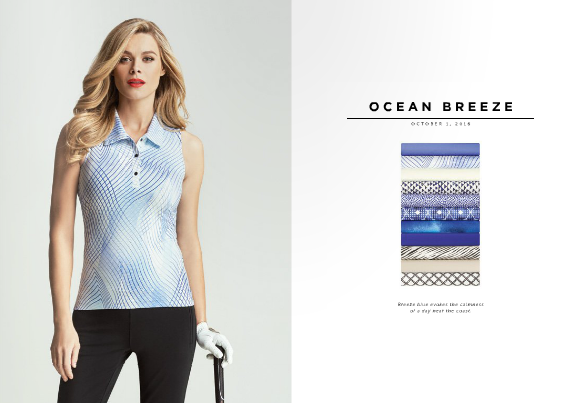 Tail fall 2016 Ocean Breeze collection