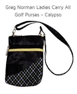 Greg Norman Ladies Carry All Golf Purses - Calypso