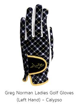 Greg Norman Ladies Golf Gloves (Left Hand) - Calypso