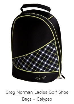 Greg Norman Ladies Golf Shoe Bags - Calypso