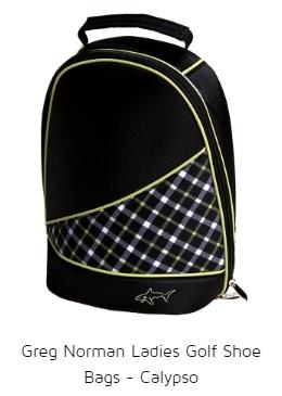 Greg Norman Ladies Golf Shoe Bags - Calypso