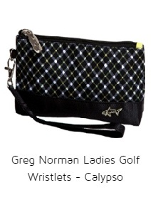 Greg Norman Ladies Golf Wristlets - Calypso