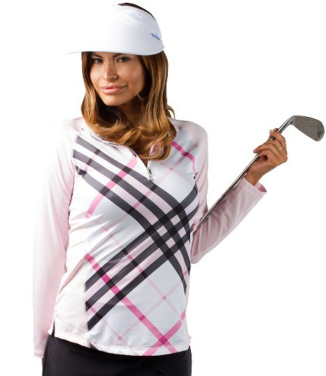 SanSoleil Prestwick Pink with Plain Sleeves