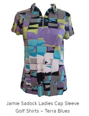 Jamie Sadock Terra Blue shirt