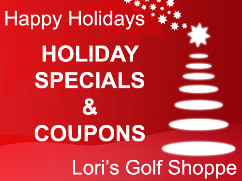 Lori's Golf Shoppe Holiday Specials