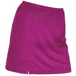 SPECIAL Monterey Club Ladies Dry Swing Artsy Animal Emboss Pull-on Golf Skorts - Assorted Colors