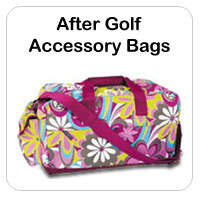 After Golf Ladies Accessory Bags