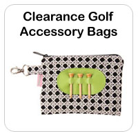 Clearance Ladies Golf Accessory Bags