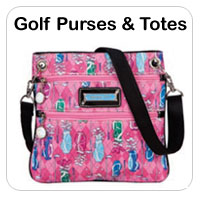 Ladies Golf Purses & Totes