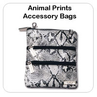 Animal Print Accessory Bags