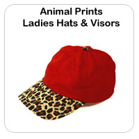 Animal Print Hats & Visors