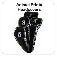 Animal Print Headcovers