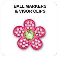 Golf Ball Markers & Visor Clips