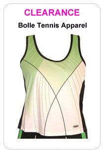 Clearance Sale! Clearance Prices on Premium Tennis Gear! Huge discounts on top of the line performance tennis gear: tennis racquets, shoes, bags, apparel and more.