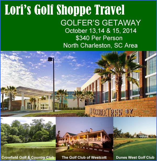Lori's Golf Shoppe Couples' Getaway - North Charleston, SC Area
