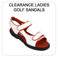 Clearance Golf Sandals