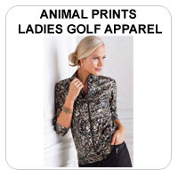 Animal Prints Ladies Golf Apparel