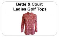 Bette & Court Ladies Golf Tops