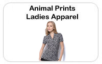 Animal Print Ladies Golf Apparel