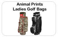 Ladies Animal Print Golf Bags