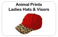 Ladies Animal Hats & Visors