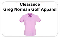 Clearance Greg Norman Ladies Golf Apparel
