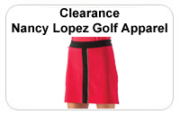 Clearance Nancy Lopez Ladies Golf Apparel