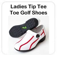 Ladies Tip Tee Toe Golf Shoes