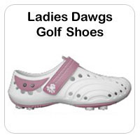Ladies Dawgs Golf Shoes