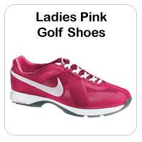 Ladies Pink Golf Shoes