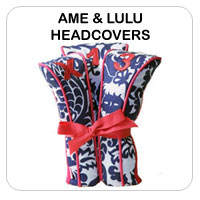 Ame and Lulu Golf Club Headcovers
