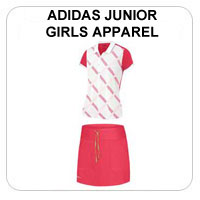 Junior Adidas Girls Golf Apparel