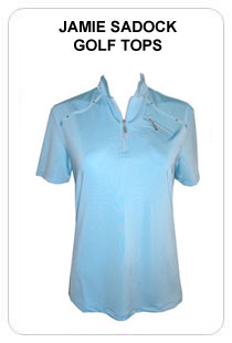Jamie Sadock Ladies Golf Shirts