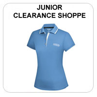 Junior Clearance Girls Golf Apparel