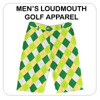 Men's Loudmouth Golf Apparel