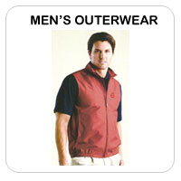 Men's Outerwear Golf Apparel
