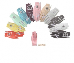 HJ Gripper Micro-Fiber Ladies Golf Gloves in 11 Colors (LH & RH)