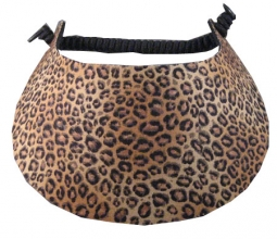 Miracle Lace Ladies Golf Visors - Leopard (Animal Prints)