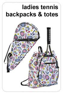 Ladies Tennis Backpacks & Totes